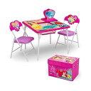 ディズニープリンセス キッズデスク キッズチェア デスクセット 勉強机 学習机 子供机 収納ボックス お片付け おもちゃ箱 入学祝 入園祝 卒園祝 お誕生日 プレゼント 自宅学習 Delta Children 4-Piece Kids Furniture Set Disney Princess