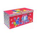 トロールズ ワールドツアー おもちゃ 収納 おもちゃ箱 お片付け 収納 キッズ ボックス 子供 部屋 おしゃれ 入学祝 入園祝 卒園祝 お誕生日 プレゼント Trolls Folding Soft Storage Bench, Perfect Toy Box or Chest for Playrooms, Officially Licensed Product