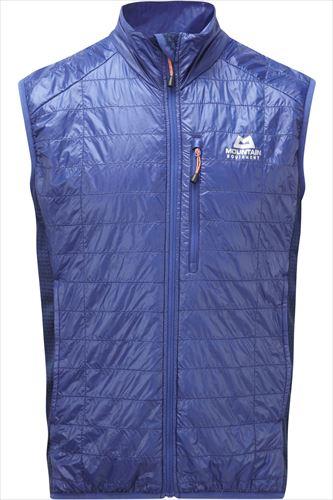 Mountain Equipment Switch Vest  マウンテンイクイップメント ベストスイッチ Cobalt / Navy Large