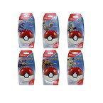 ポケモン ブロック おもちゃ メガブロック カラカラ ニャース コラッタ パラス イシツブテ アーボ 6体セット メガコンストラックス Mega Construx Pokemon Pokeball Series 2 Full Set Cubone Paras Meowth Geodude Rattata Ekans
