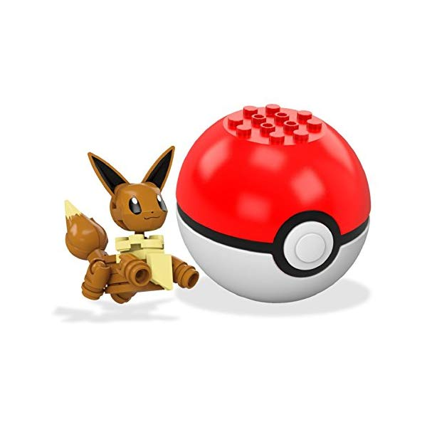 ブロック, セット  Mega Construx Pokemon Eevee Building Set