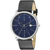 スカーゲン Skagen 腕時計 Skagen Men's SKW6241 Hagen Black Leather Watch