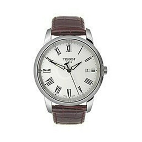 ティソ Tissot 腕時計 メンズ 時計 Tissot Classic Dream White Dial Men's Watch #T033.410.16.013.01