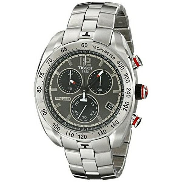 ティソ Tissot 腕時計 メンズ 時計 Tissot Men's T0764171106700 Stainless Steel Watch