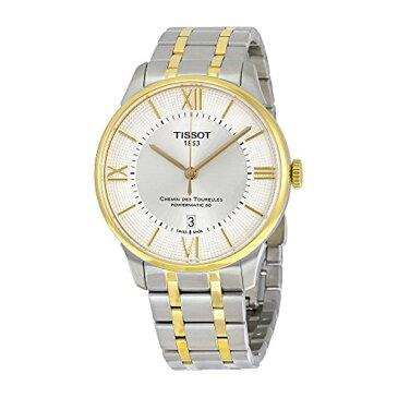 ティソ Tissot 腕時計 メンズ 時計 Tissot Men's 'Chemin Des Tourelles' Swiss Automatic Stainless Steel Casual Watch, Color:Two Tone (Model: T0994072203800)