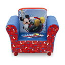 ミッキーマウス ディズニー デルタ キッズ ソファー 子供用 ミニソファ 一人用 Delta Children Disney Mickey Mouse Upholstered Chair