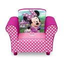 ミニーマウス ディズニー デルタ キッズ ソファー 子供用 ミニソファ 一人用 Delta Children Disney Minnie Mouse Upholstered Chair