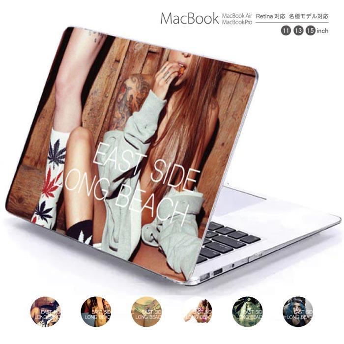macbook pro air 13 15 インチ ケース カバー macbookpro シェルケース macbookair パソコンケース PC保護ケース マックケース マックブック mac book music club クラブ HIPHOP DJ デザイン sexy girl セクシー ganja weed画像