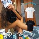 西海岸 blue 青 水色 ロゴT street brand aloha アロハ california カルフォルニア ハワイ hawaii beach ビーチ summer ロゴ 写真 フォト フォトT Tシャツ プリント デザイン 洋服 t-shirt 白 黒