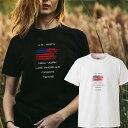 星条旗 USA america アメリカ 地図 合衆国 ノースカロライナ ユタ テキサス フロリダ california カルフォルニア ロゴ 写真 フォト フォトT Tシャツ プリント デザイン 洋服 t-shirt 白 黒