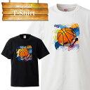 バスケットボール バスケ basketball フリースロー ダンク バッシュ 応援 ユニフォーム デザイン Tシャツ T-shirt ティーシャツ 半袖 大きいサイズあり big size ビックサイズ