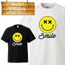 ニコちゃん にこちゃん マーク スマイル 笑顔 smile イラスト ロゴ logo デザイン Tシャツ T-shirt ティーシャツ 半袖 大きいサイズあり big size ビックサイズ