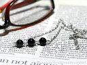 パワーストーン 天然石 ネックレス 「 モリオンと水晶のネックレス 」 ク...