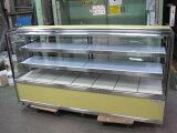 【中古】【大穂】冷蔵ショーケースOHGU-TRA-2100B*単相100V2008年製単相100V50/60Hz共用ヤマチュー6ヶ月保証