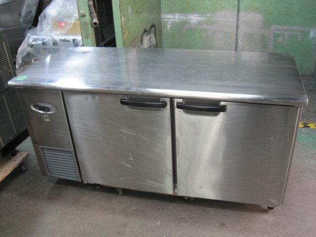 2007年製 【フジマック】 【中古】コールドテーブル(冷蔵) FRT1560JF 単相100V  単相100V  ヤマチュー6ヶ月保証:ヤマチュー