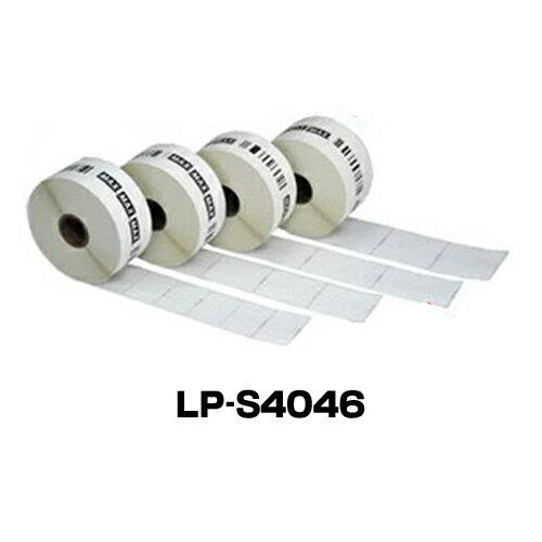 ラベルシール マックス LP-S4046(6巻)LP-55S/50SH/70S用
