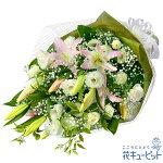 お供えの花束花キューピット