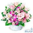 花キューピット【誕生日フラワーギフト】ya00-511587トルコキキョウとデンファレのアレンジメント