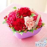 Anniversaryママ(ピンク)花キューピット