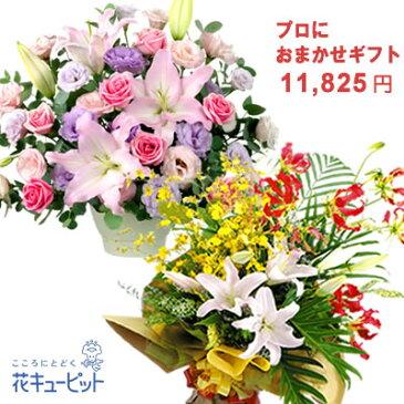 花キューピット【歓送迎・おまかせ】yiyr-o10999プロにおまかせフラワーギフト