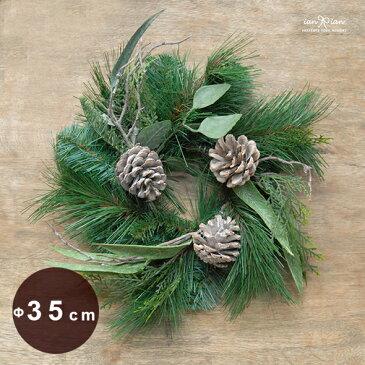 デザイナーズクリスマスリース35cm Mサイズ(アーティフィシャルフラワー)ianianオリジナル