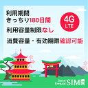 日本docomoプリペイドデータ専用SIM 20GB+最大256Kbps 容量無制限 4G/LTE対応 有効期限きっちり180日 更なる延長により無期限に 全サイズ対応 SIMピン付・・・