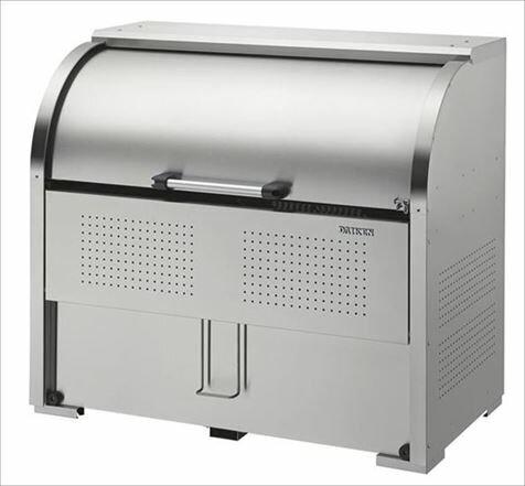 ダイケン ステンレスゴミ収集庫クリーンストッカー 間口1300 CKS-1307F ( 旧品番 CKS-1300F ) 屋外 大型 ゴミ箱 ゴミ置き