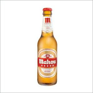 スペイン・マドリードを代表するビール。スペインビール マオウ・シンコ・エストレージャス ma...