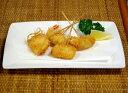 【海鮮のカダイフ串揚げ】海老、キス、イカ、タコの4種の海鮮ネタをカダイフで巻いた軽い食感の串揚げです。