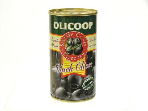 特売♪【ブラックオリーブ(種抜き)】スペイン産★美しい黒オリーブ。最高の品質でお料理にも重宝です。