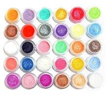 【DM便送料無料】微粒子カラーパウダー顔料30色セット レジンアクセサリー用にも大人気 発色良い