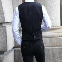 7b525d8cecb31 ... 黒スーツ3ピーススーツスリムスーツセットアップメンズ大きいサイズカジュアルスーツビジネススーツリクルート ...