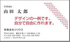 自分で自由にデザインできる名刺【カラー片面100枚】【メール便送料無料】【平日14時受付当日発送】名刺 作成 印刷