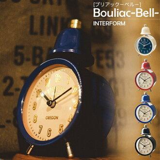 Bouliac Bell buriakkuberuteburukurokku鬧鐘桌子鐘表鬧鐘座鐘鬧鐘鬧鐘
