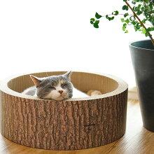 【猫】【爪とぎ】【iCat】【アイキャット】オリジナル猫のくつろぎつめとぎ森の切り株[メール便不可]【段ボール】【猫用つめとぎ】【猫のつめとぎ】【スクラッチャー】【キャットスクラッチャー】【ダンボール】