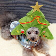 クリスマスツリーに変身できるスヌード