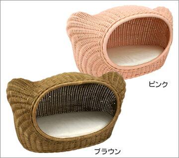 美しく高級感のあるラタンで作り上げたベッドシンプルなシルエットはどんな空間にもマッチ【i C...