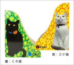 スタイリッシュなフォトプリントのつめとぎ本物のにゃんこがそこにいるみたい・・・・【i Cat/...