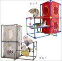 猫ちゃんたちの楽しい遊び場SPORT PETシリーズジャングルジムのようなキャットタワーです【オー...