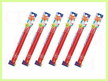 トンボ鉛筆 丸つけ用赤えんぴつ 2本パック 6パック計12本セット