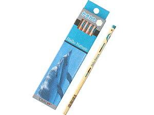 【無料名入れ】トンボ鉛筆ハローネイチャーかきかたえんぴつイルカ 硬度:2B