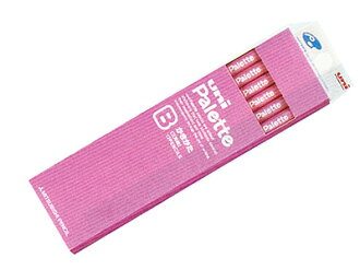 That uni Palette (palette) lack pencils 2B paper box pink triangular axis:-