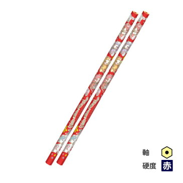 ▼リルリルフェアリル 赤鉛筆 六角軸 2本パック りっぷ ひまわり すみれ ローズ