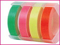 【DYMO】ダイモ マシューズ ラベルライターテープ蛍光色テープ 【02P17Jan14】