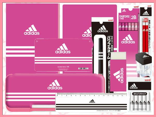 ●アディダス 文具セット5000 ピンク adidas  ギフト セット 三菱鉛筆【02P03Dec16】