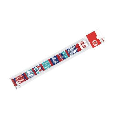 ◇スーパーマリオ 赤鉛筆 六角軸 2本パック スーパーマリオ 進級生向け