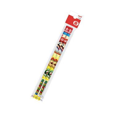 ◇スーパーマリオ 赤鉛筆 六角軸 2本パック スーパーマリオ 新入生向け