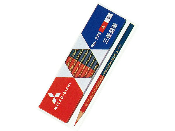 ・special pencil (hexagonal axis) 1 dozen Mitsubishi pencil Zhu AI ( 5:05 )