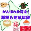 【送料込】がんばれ北海道!海鮮&惣菜福袋(梅:5000円) ...
