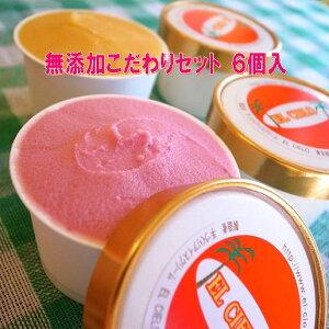 無添加体に優しい手作りアイスクリーム選べる母の日セット6個入
